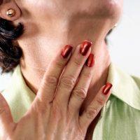 Ощущение кома в горле
