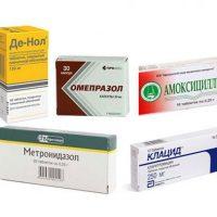 Хеликобактер пилори симптомы и лечение, схемы эрадикации при лечении антибиотиками