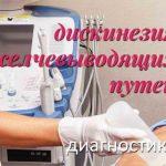 Диагностика дискинезий желчевыводящих путей